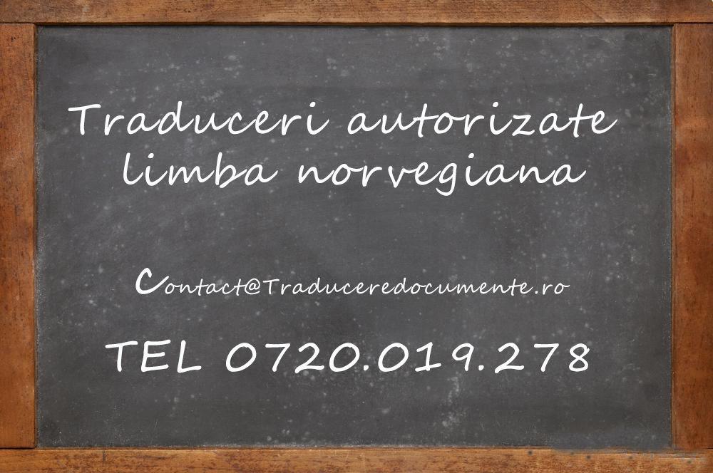 Traducere romana norvegiana