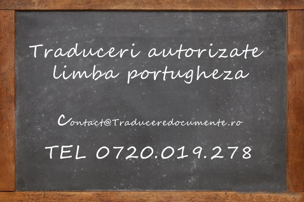 Traducere romana portugheza