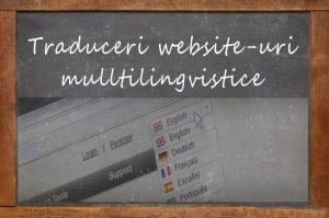 Traduceri site-uri multilingvistice
