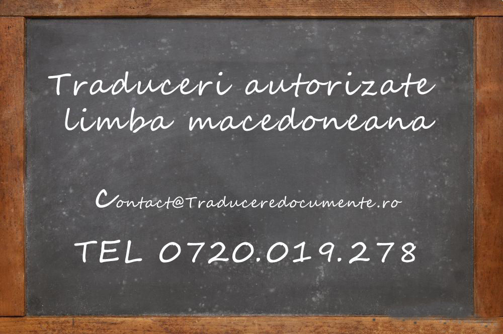 Traducere romana macedoneana