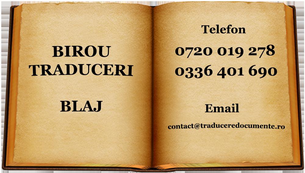Birou-traduceri Blaj