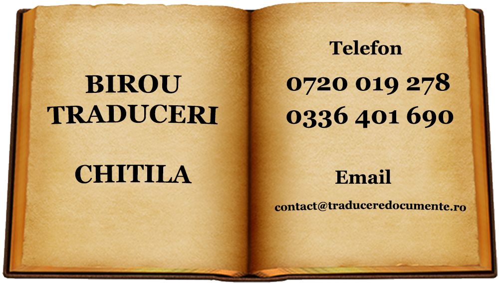 Birou traduceri Chitila