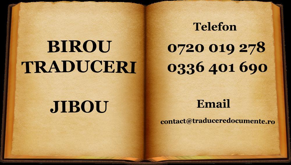 Birou de traduceri Jibou