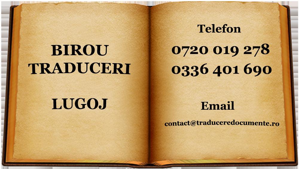 Birou traduceri Lugoj