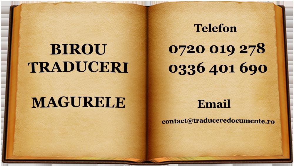 Birou traduceri Magurele