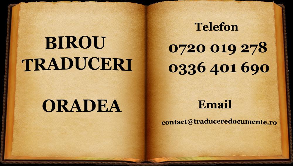 Birou traduceri Oradea