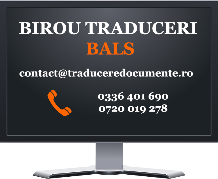 Birou traduceri Bals