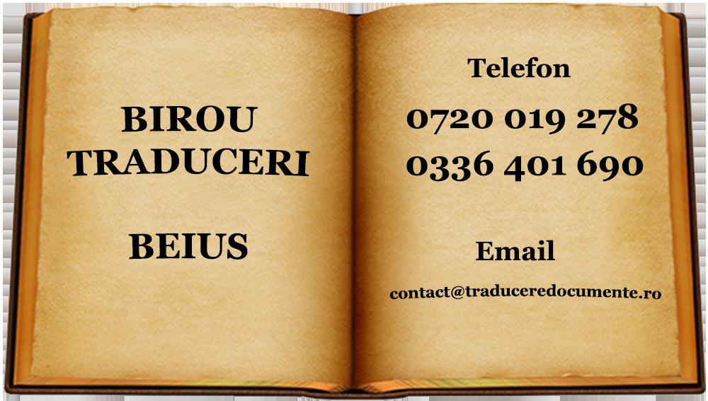 Birou traduceri Beius