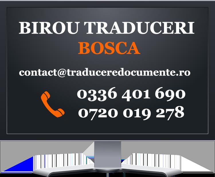 Birou traduceri Bocsa