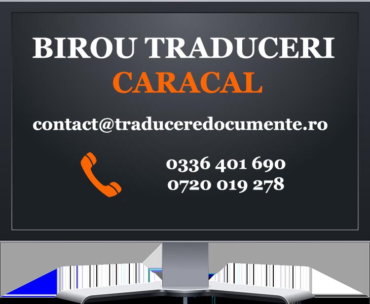 Birou traduceri Caracal