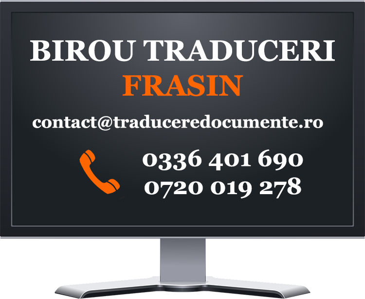 Birou traduceri Frasin