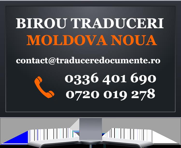 Birou traduceri Moldova Noua