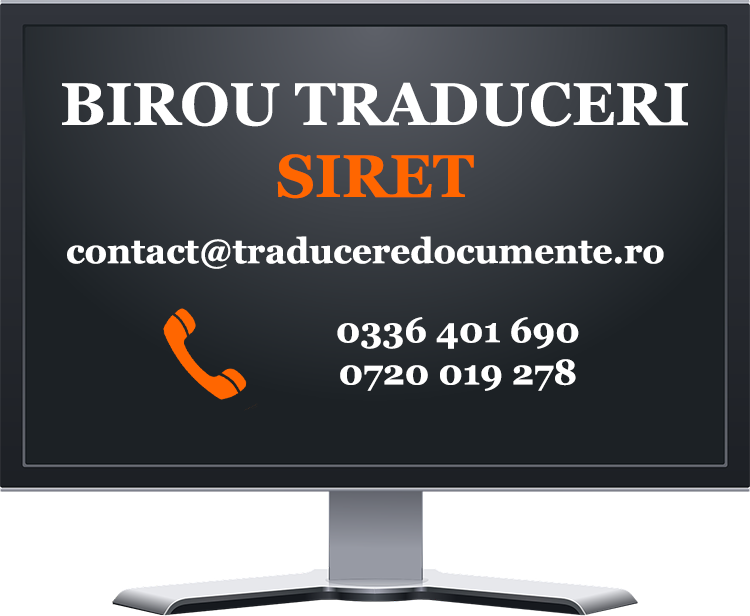 Birou traduceri Siret