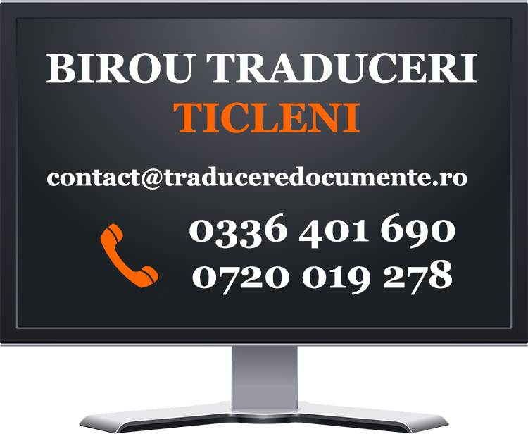 Birou traduceri Ticleni