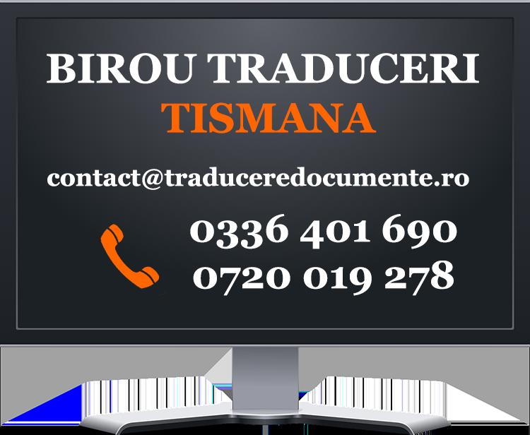 Birou traduceri Tismana