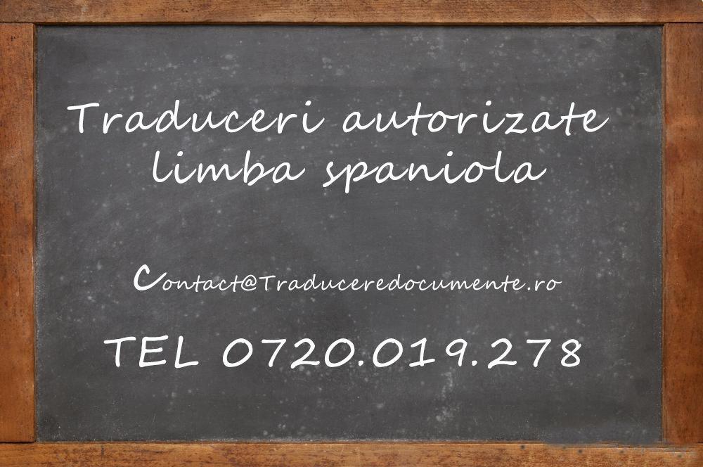 Traducere romana spaniola