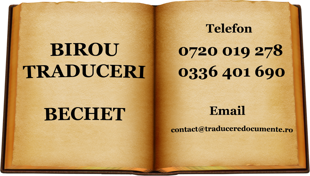 Birou traduceri Bechet