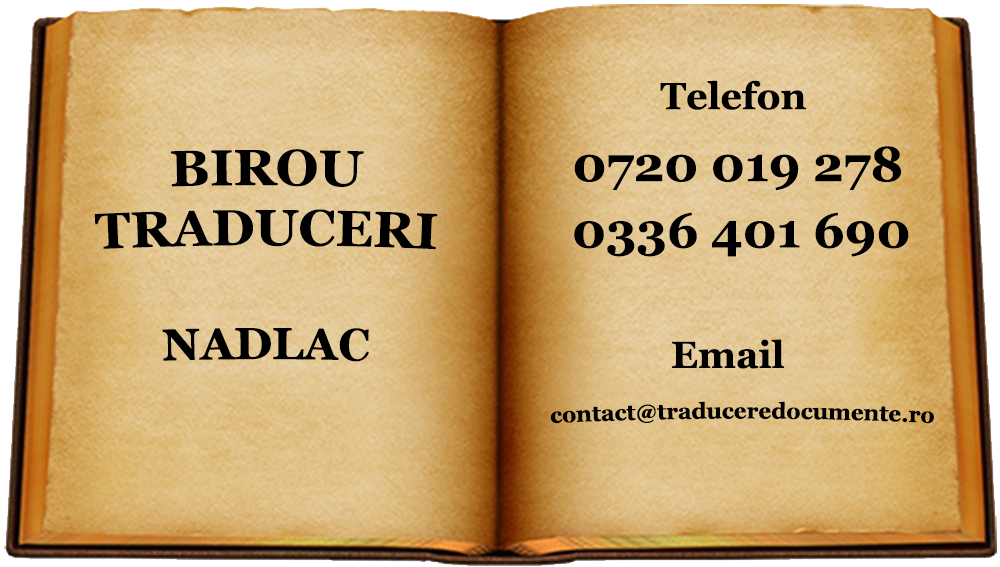 Birou traduceri Nadlac