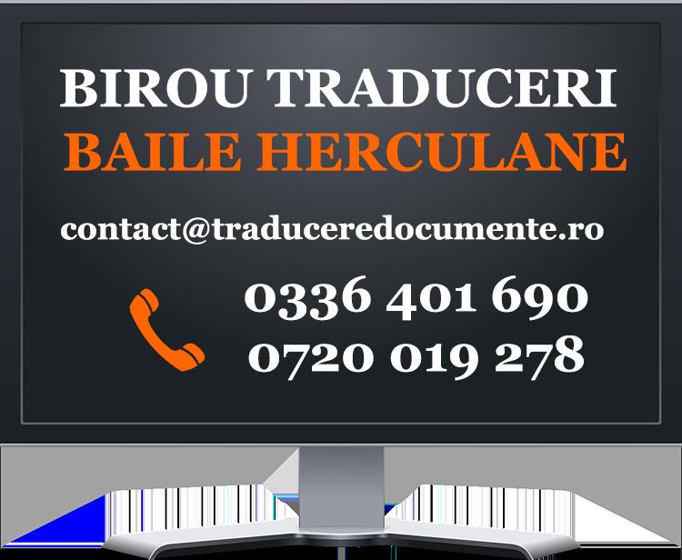 Birou traduceri Baile Herculane
