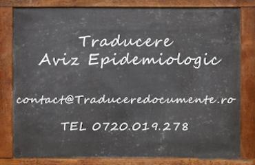Traducere aviz epidemiologic